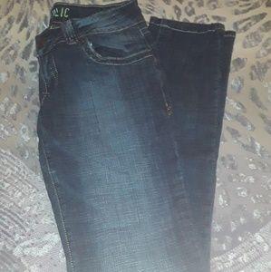 Hydraulic jeans!! Size 9/10!